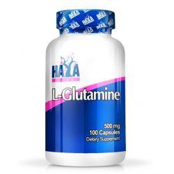 L-Glutamina 500mg - 100 cápsulas [Haya Labs]