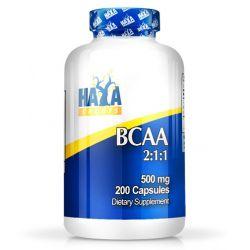 BCAA 2:1:1 500mg - 200 cápsulas [Haya Labs]
