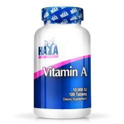 Vitamina A 10.000IU - 100 tabletas [haya labs]