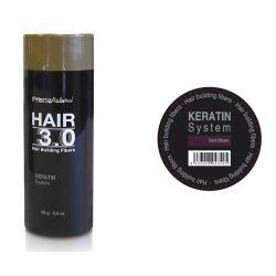 Hair 3.0 buildiing fibers Castaño Oscuro [Prisma]