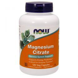 Citrato de Magnesio - 120 Cápsulas vegetales [now foods]