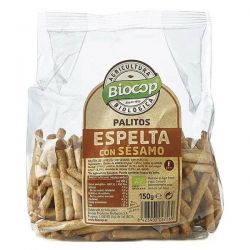 Palitos de espelta con sésamo - 150g [biocop]