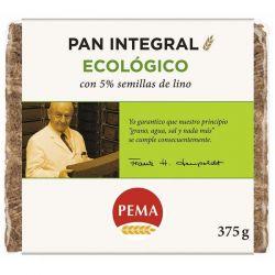 Pan de centeno 5% semillas de lino Pema - 375g [biocop]
