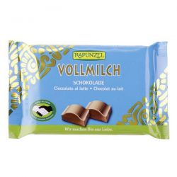 Snack de chocolate con leche rapunzel - 100g [biocop]