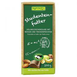 Tableta de chocolate con leche con frutos secos rapunzel - 200g [biocop]