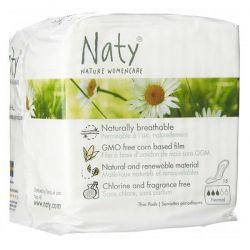 Compresas normal naty - 15 unidades