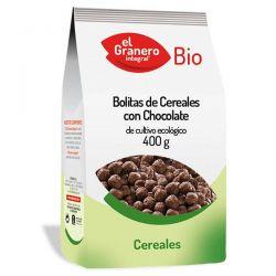 Bolitas de Cereales con Chocolate Bio - 400 g
