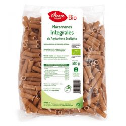 Macarrones Integrales Bio - 500 g [Granero]