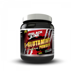 Black line l-glutamine powder - 454 g [Perfect]