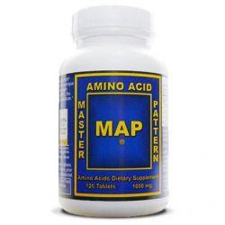 MAP Aminoacids 1000 mg - 120 caps