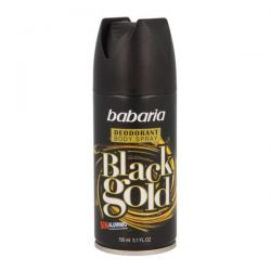 Babaria Black Gold Desodorante Spray 150ml+50ml Gratis