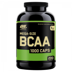 BCAA 1000 - 200 cápsulas