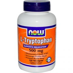 L Tryptophan 500mg - 60 vcaps