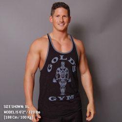 men's tanks muscle joe contrast stringer