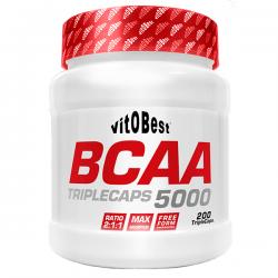 BCAA 5000 - 200 Triple cápsulas