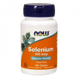 Selenio 100 mcg - 100 Tabletas [Now Foods]