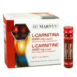 L - Carnitina 2000 mg - 20 Viales [Marnys]