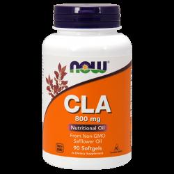 CLA 800 mg - 90 Softgels [Nowfoods]