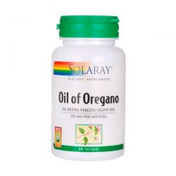 Aceite de Orégano 150mg - 60 Softgels [Solaray]