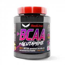 BCAA 8:1:1 + Glutamine - 600g [Invictus Red Line]