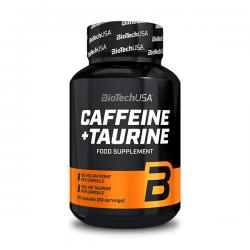 Cafeina y Taurina - 60 cápsulas