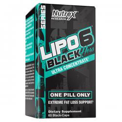 Lipo 6 Black Hers Ultra Concentrate - 60 cápsulas
