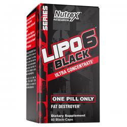 Lipo - 6 Black Ultra Concentrated - 60 capsulas