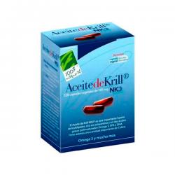 Aceite de Krill NKO 500mg - 120 Cápsulas [100%Natural]