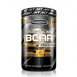 Platinum BCAA - 200 cápsulas