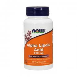 Ácido Alfa Lipoico 250mg - 60 Cápsulas