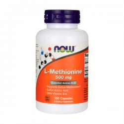L-Methionine 500mg - 100 Cápsulas