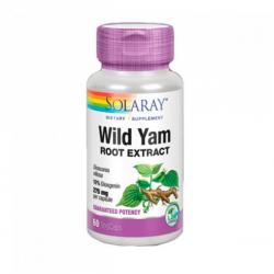 Wild Yam Root - 60 Cápsulas [Solaray]