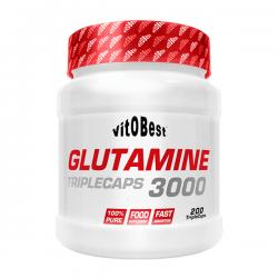 Glutamina 3000 - 200 Tabletas [Vitobest]