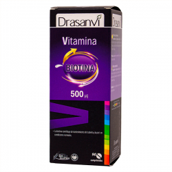 Vitamina H con Biotina 500mcg - 90 tabletas