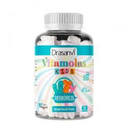 Vitamolas Probióticos Niños - 60 Gominolas