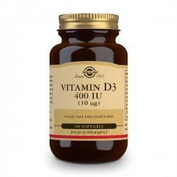 Vitamina D3 400 UI (10 mcg) - 100 Softgels