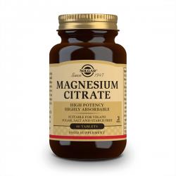 Citrato de Magnesio - 60 Tabletas