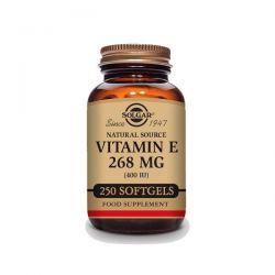 Vitamina E 400 IU (268mg) - 250 Cápsulas blandas