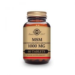 MSM 1000mg - 60 Tabletas [Solgar]