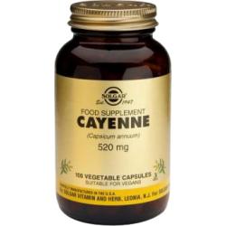 Cayena - 100 Cápsulas Vegetales