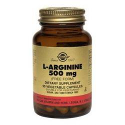 L-arginine 500mg - 50 vcaps
