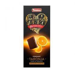 Chocolate Negro con Naranja Zero - 125g