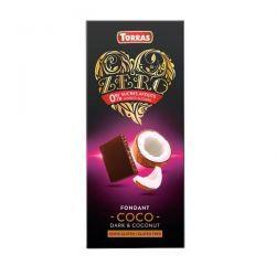 Chocolate Negro con Coco Zero - 125g