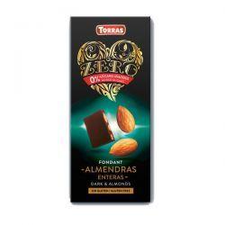 Chocolate Negro con Almendras Zero - 150g
