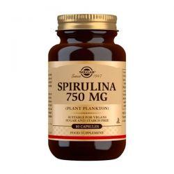 Espirulina 750mg - 80 Cápsulas vegetales