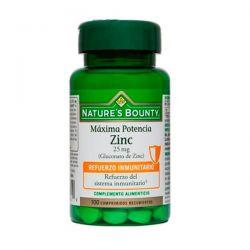 Zinc 25mg (Gluconato de Zinc) - 100 Tabletas