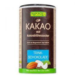Cacao Soluble con Coco Rapunzel envase de 250g de la marca Biocop (Repostería acaloríca y proteica)
