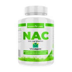 NAC 300mg de 120 cápsulas vegetales del fabricante Power Labs (Otros Aminoácidos)