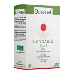 Cannabis D Rojo - 36 Cápsulas