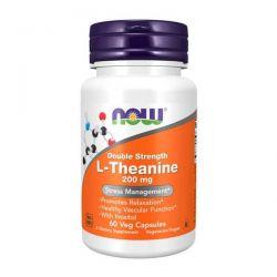 L-Teanina 200mg - 60 Cápsulas vegetales